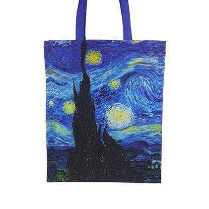 Van Gogh - Yıldızlı Gece - Bez Çanta