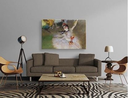 Degas - Baş Balerin - Kanvas Tablo