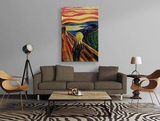 Munch - Çığlık - Kanvas Tablo