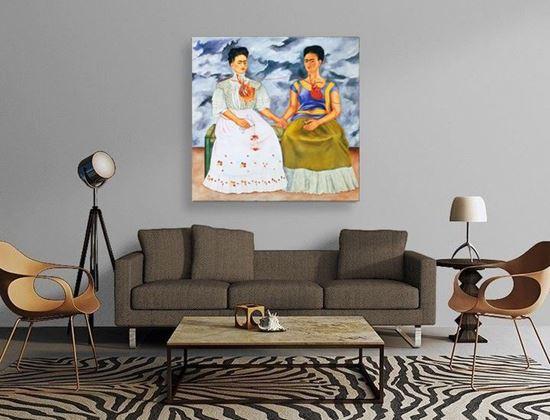 Frida - İki Frida - Kanvas Tablo