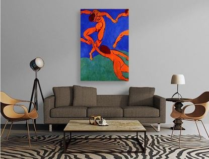 Matisse - Dans - Kanvas Tablo