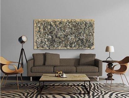 Pollock - Bir Numara 31 - Kanvas Tablo