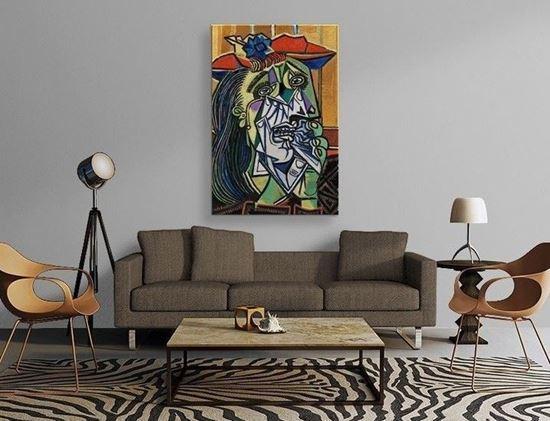 Picasso - Ağlayan Kadın - Kanvas Tablo