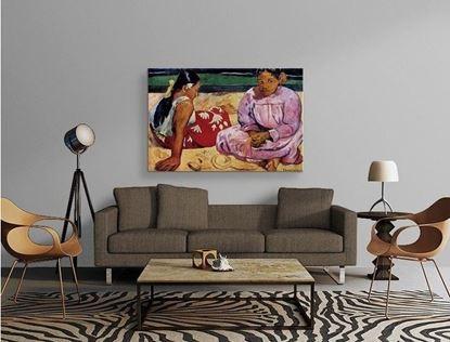 Gauguin - Tahitili Kadınlar - Kanvas Tablo