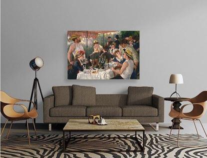 Renoir - Tekne Gezisinde Öğle Yemeği - Kanvas Tablo