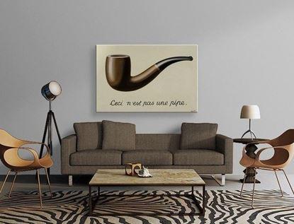 Magritte - Bu Bir Pipo Değildir - Kanvas Tablo