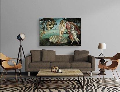 Botticelli - Venüs'ün Doğuşu - Kanvas Tablo