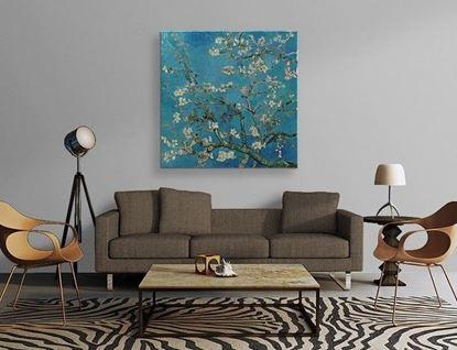 Van Gogh - Çiçek Açan Badem Ağacı - Kanvas Tablo