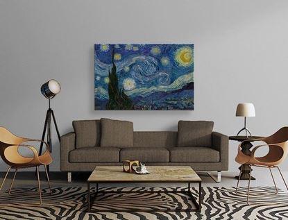 Van Gogh - Yıldızlı Gece - Kanvas Tablo