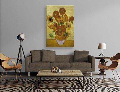 Van Gogh - Ayçiçekleri - Kanvas Tablo