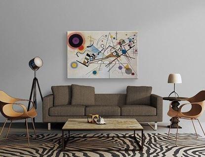 Kandinsky - Kompozisyon VIII - Kanvas Tablo