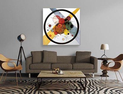 Kandinsky - Renk Çalışması - Kanvas Tablo