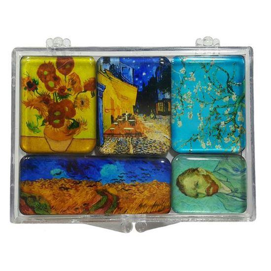 Van Gogh 5'li Magnet Set -I-