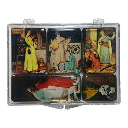 Osman Hamdi Bey 5'li Magnet Set