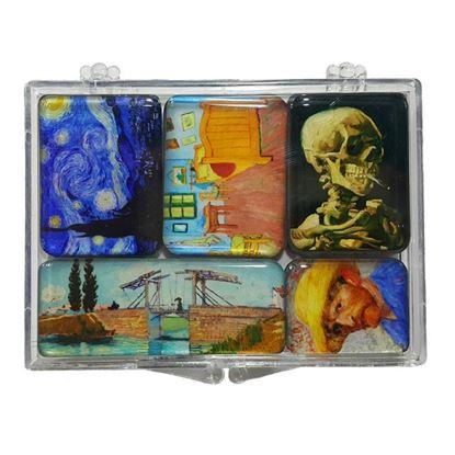 Van Gogh 5'li Magnet Set -II-