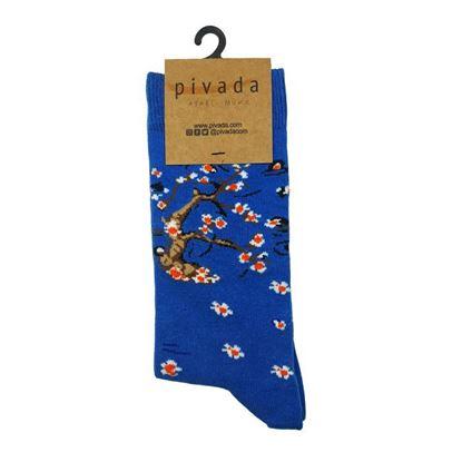 Van Gogh - Çiçek Açan Badem Ağacı- Çorap