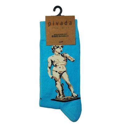Michelangelo - Davud - Çorap