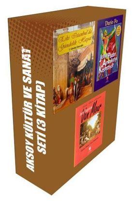 Aksoy Kültür ve Sanat Seti-3 Kitap Takım
