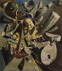 Vermeer'in Dantelci'sinin Eleştirel Paranoya Resmi, 1955