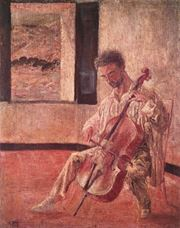 Show Portrait of the Cellist Ricard Pichot, 1920 details
