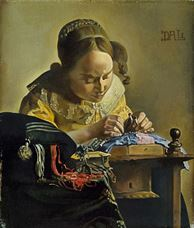 Dantelci (Vermeer'den esinle), 1955
