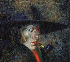 Show Self-Portrait, 1921 details