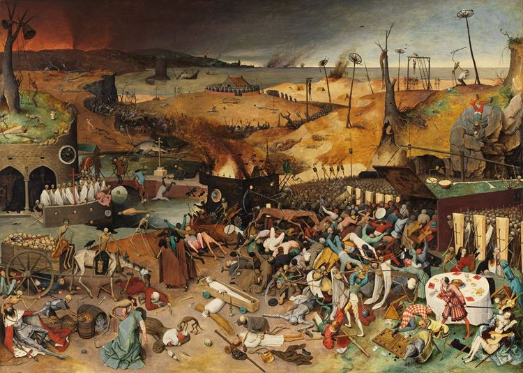 Ölüm Zaferi / 1562 dolayları - Yaşlı Pieter Bruegel picture