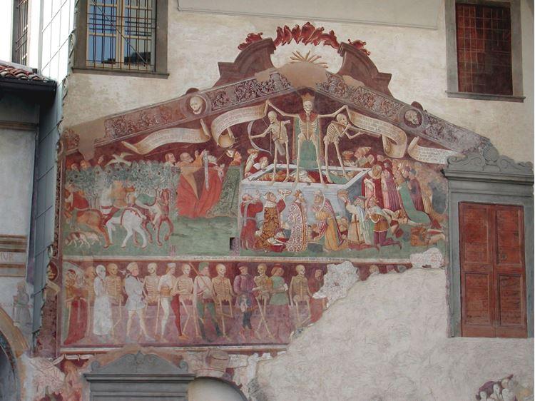 Ölüm Dansı ile Ölümün Zaferi / 15. yüzyıl - Giacomo Borlone de Burchis picture