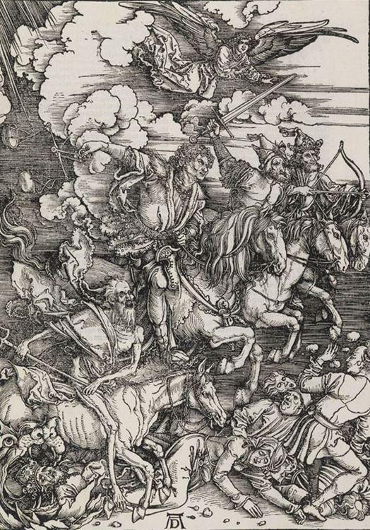 Kıyametin Dört Atlısı / 1496 dolayları - Albrecht Dürer picture