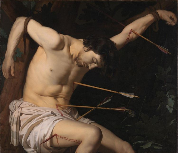 Saint Sebastian / 1623 dolayları - Gerrit van Honthorst picture