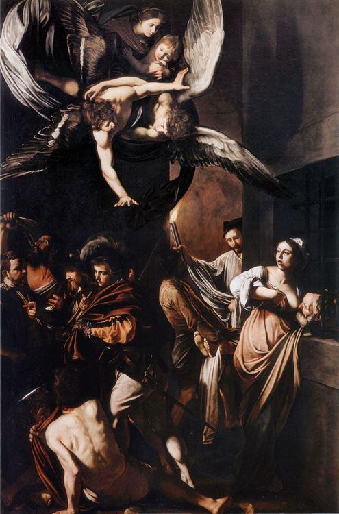 Merhametin Yedi Şekli / 1607 - Caravaggio picture