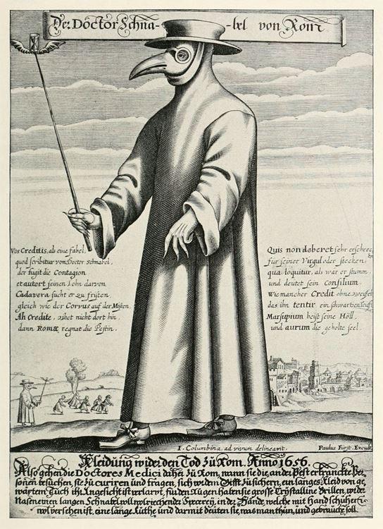 Veba Doktoru (Doktor Schnabel) / 1656 dolayları - Holländer Eugen picture