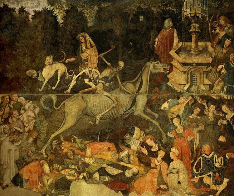 Veba ve Ortaçağ Ölüm Zaferi / 1446 dolaylarında picture