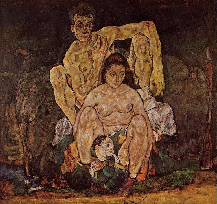 Aile / 1918 - Egon Schiele picture