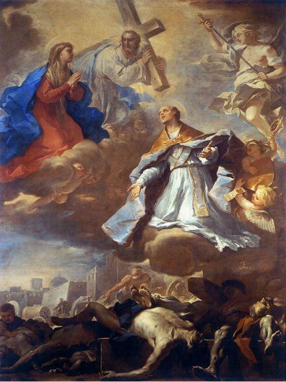 St Gennaro Napoli'yi Veba'dan Kurtarıyor / 1660 dolayları - Luca Giordano picture