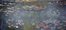 Show Water Lilies Pond, Green Reflection, 1920-1926 details