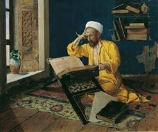 Show An Islamic Theologian with the Quran, 1902 details