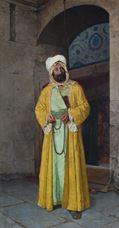Rüstem Paşa Cami Önünde, 1905