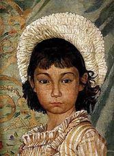 Çekik Gözlü Kız (Sanatçının Yeğeni Tevfika), 1882