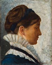 Show Portrait of Agarite, 1874 details
