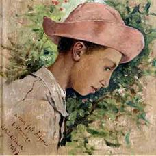 Show Child with a Hat, (Artist's Son Edhem), 1897 details