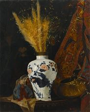 Show Flowers in a Vase, 1876 details