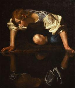 Picture of Narkissos - Caravaggio