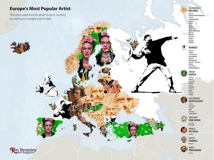 Avrupa'nın En Popüler Sanatçısı