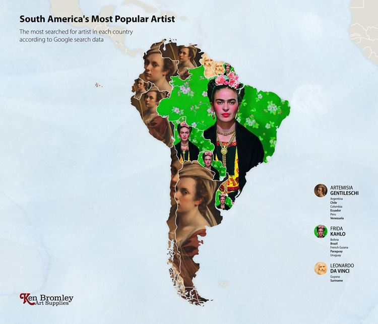 Güney Amerika'nın En Popüler Sanatçısı