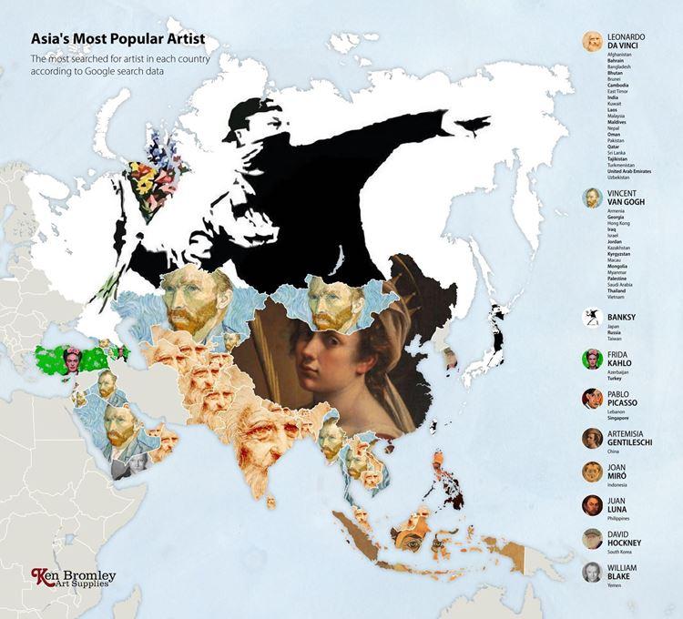 Asya'nın En Popüler Sanatçısı