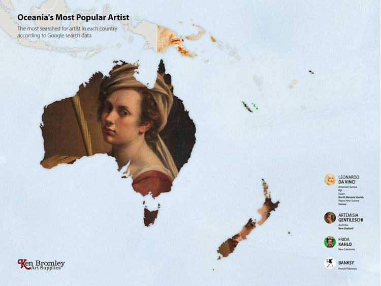 Okyanusya'nın En Popüler Sanatçısı
