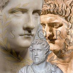 Roma İmparatorlarının Yüz Rekonstrüksiyonları ile Gerçek Görünümleri picture