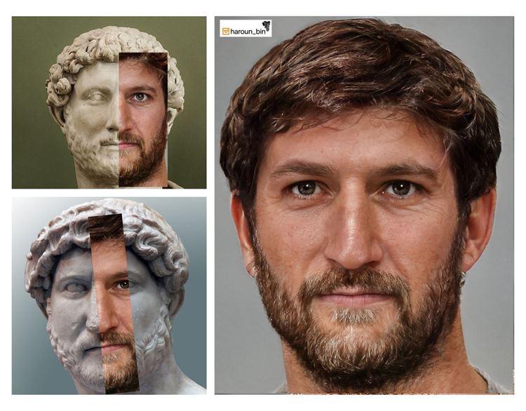 Hadrian (MS 24 Ocak 76 - MS 10 Temmuz 138) picture