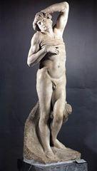 Show Ölen Köle, 1513-1515, Mermer, 228 cm, Musée du Louvre, Paris, Fransa. details